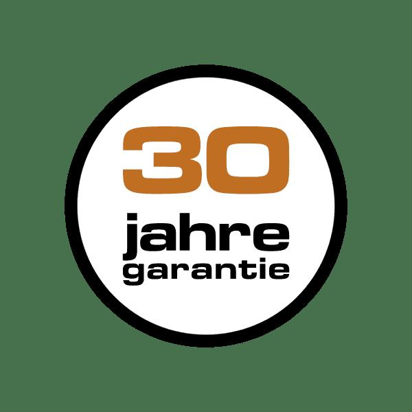 30 Jahre Garantie