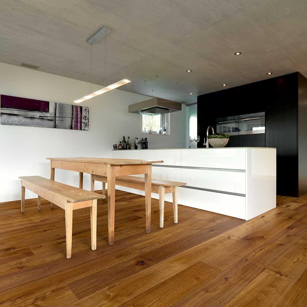 Eiche Ignis rustic alpin natur geoelt classic Wohnung Schweiz