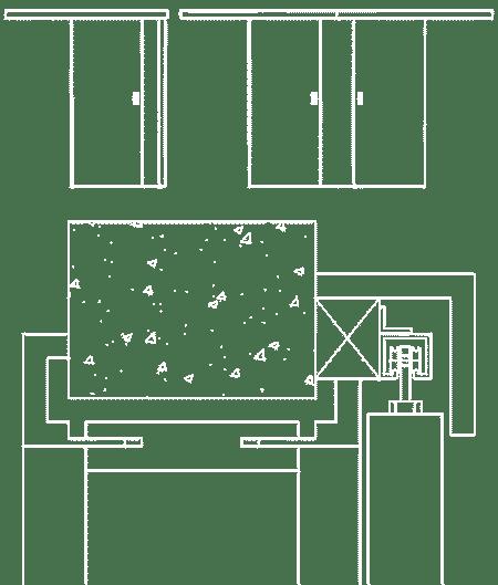 Admonter Doors Schiebetürzarge